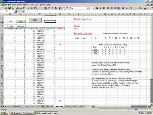 Product picture Predict Lotto 649 Winning Numbers - Excel Lottery Software