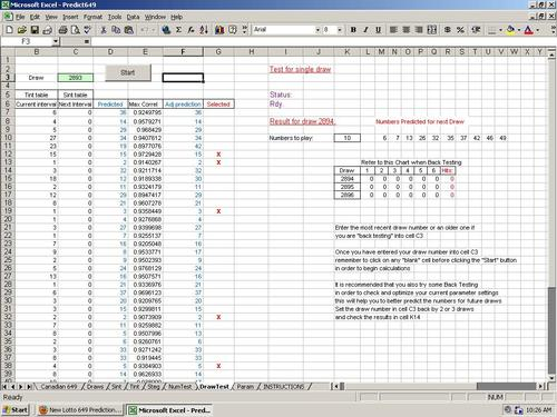 Product picture Predict Lotto 645 Winning Numbers - Excel Lottery Software